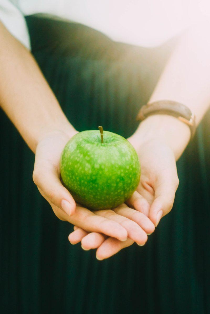 frutta mela aceto